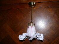 Prunkvolle  Jugendstil Lampe Deckenlampe Jugendstillampe ca. 1920