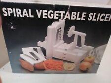 Spiralizer World Cuisine Tri Blade Plastic Spiral Vegetable Slicer Curled Julien