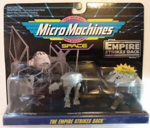 MicroMachines Space - Star Wars collection 65860 #2 TESB 3-pack 1993