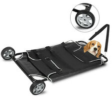 Pet Mobile Trolley Animal Stretcher Dog Cat Moving Trolley Cart Veterinary 250lb