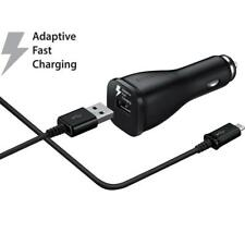 Samsung Galaxy OEM Fast Adaptive Car Charger Rapid Charging with USB Adapter NEW