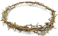 Crown Of Thorns Hand Made in The Holy Land Jeusalem Jesus Bleessed Natural Wood