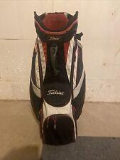 Titleist Cart 14 Lightweight Golf Cart Bag - Black/Red/White