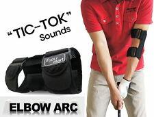 """TIC TOC"" Golf Swing Training Equipment Practice Aid Elbow Brace Mesh Type M_o"