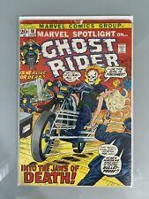 Marvel Spotlight #10 -- 6th App Ghost Rider -- Low Grade -- 1973