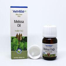 Steam Distilled, 100% Pure Melissa Oil, Melissa Officinalis – 20ml