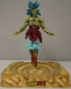 """DragonBall Z Broly DBZ Resin 10"""" Statue Rare Hard To Find"""