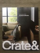 CRATE & BARREL FALL WINTER 2017 FURNITURE COLLECTION CATALOG LOOK BOOK