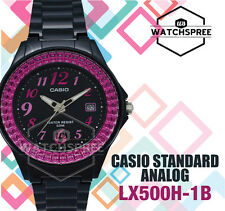 Casio Ladies' Standard Analog Watch LX500H-1B
