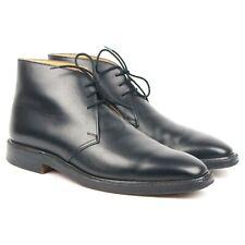Crockett & Jones 'Holborn' Black Desert Chukka Boots Leather Men's UK 10 E