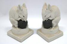 Sevres France Keramik Paar Ratten