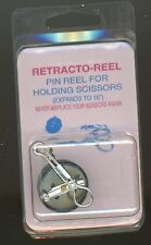 Retracto-Reel Pin Reel for Holding Pens & small Scissors expands to 16""