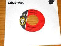 "CHRISTMAS 45 RPM - BOBBY RYDELL/CHUBBY CHECKER - CAMEO 205 - ""JINGLE BELL ROCK"""
