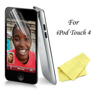 3X (Three) Clear Screen Protectors For iPod Touch 4 4G - PET Films