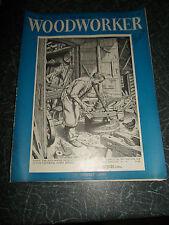 WOODWORKER July 1958 ~ Retro Vintage Illustrated Magazine + Advertising