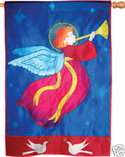 Peace Angel House Flag Pr 52573