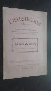 REVUE L'ILLUSTRATION THEATRALE JOURNAL DRAMATIQUE 2 JUILLET 1910 N° 154 ABE