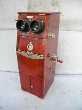 Deluxe Antique Ernemann 44mm x 105mm Cartridge Stereoscope Slide Viewer