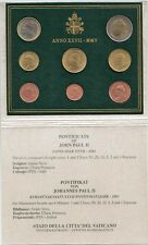 2005 Vaticano Vatican Vatikan Set Divisionale Euro 8 Monete Giovanni Paolo II