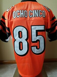 New Chad Ocho Cinco / Johnson Cincinnati Bengals Jersey w/tags + FREE Shipping!