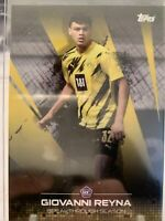 GIOVANNI GIO REYNA BREAKTHROUGH SEASON 2020 TOPPS BVB SET ROOKIE CARD RC /1420