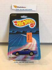 #4 '80's Firebird 3971 * BLUE * 1986 Hong Kong * Vintage Hot Wheels * H91
