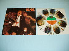 "AC/DC If You Want Blood 12"" SPLATTER color vinyl album LP MEGA RARE"