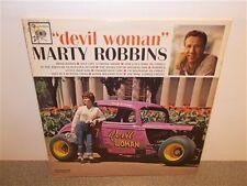 Marty Robbins . Devil Woman . Columbia 2 Eye . LP
