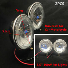 "2PCS 3.5"" 100W CAR SUV MOTORCYCLE HEADLIGHT FOG LIGHT REVERSE LIGHT DRIVING LAMP"