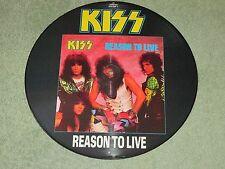 KISS reason to live Vertigo 12 pouces Photo Disc kissp 812!