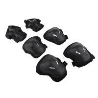 6 Pcs Adult Roller Skating  Knee Wrist Guard Elbow Pad Protective Set