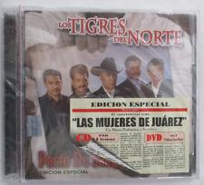 """LOS TIGRES DEL NORTE """"PACTO DE SANGRE"""" SPECIAL EDITION IMPORT CD & DVD SET - NEW"""