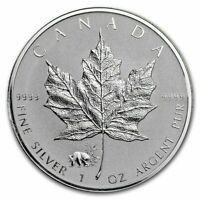 2017 1 oz Canada Silver Maple Panda Privy Coin (Reverse Proof)