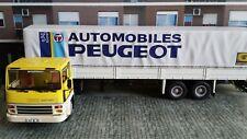 1/43 IXO ALTAYA CAMION TRAILER TRUCK BERLIET TR 280 AUTOMOBILES PEUGEOT