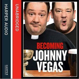 Becoming Johnny Vegas - Audio Book CD **NEW**