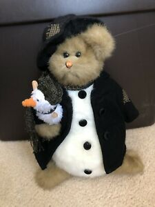 The Bearington Bear Collection Jack & Frost Snowman & Penguin 1169 No Tags