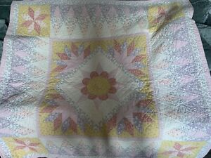 Shabby Chic Pastel Patchwork Bed Cover