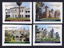 2013 Australia - Government Houses (4) s/a ex booklet MUH