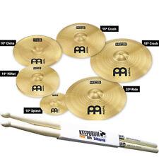 Meinl Cymbals HCS-SCS Beckenset 6 teilig + Drumsticks