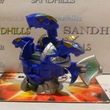 Bakugan Knight Percival Evolved Blue Aquos Bakutech 520G & cards