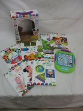 Disney My First Smart Pad Electronic Activity Pad and 8 Book Library