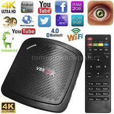 SCISHION V88 Mini II Smart TV Box Android 6.0 Quad-core WiFi BT 2GB/8GB 4K Movie