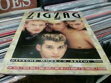 ZigZag Magazine August 1985 Depeche mode cover..tony wilson..march violets.etc