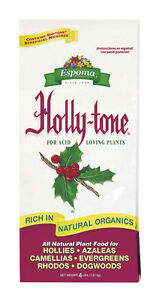 Espoma  Holly-tone  Plant Food  For Acid Loving Plants 4 lb.