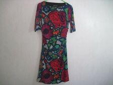 Jones New York Womens Dress Size 8 Half Sleeve Gathered Sides Gorgeous Colors