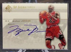 2004 Autographed Michael Jordan Chicago Bulls Upper Deck LE SP Signatures (UDA)