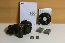 NIKON D90 12.3MP Digital SLR Camera - Original box and accesories  -  ONLY 16K