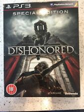 PS3 GAME - DISHONORED - SPECIAL EDITION - WITH CARDS - DISHONOURED