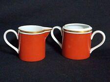 Fitz & Floyd MEDAILLON D'OR ORANGE - Creamer & Sugar Bowl no/lid
