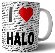 I Love Halo Tea - Coffee - Mug - Cup - Birthday - Christmas - Gift